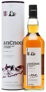 Ancnoc Scotch Single Malt 18 Year 750ml
